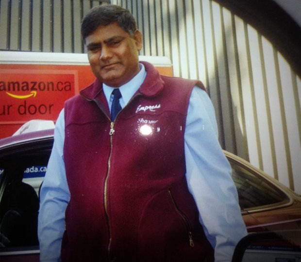Airport crash victim Ramesh Sharma.