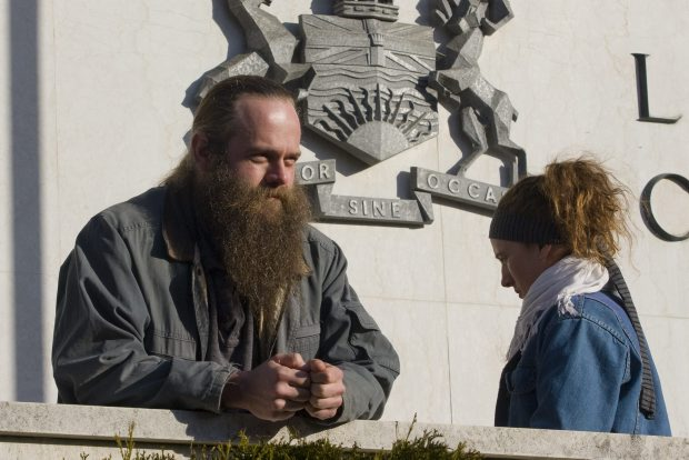 David Johnston has been on a hunger strike in jail since Oct. 26.