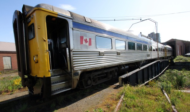 Earlier this month, Via Rail's idle E&N Dayliners left Nanaimo on a barge, headed for Eastern Canada. E&N supporters hope to see an updated passenger train service restored.