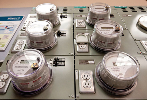 B.C. Hydro hopes to have smart meters installed at all homes and businesses in the province by the end of next year.