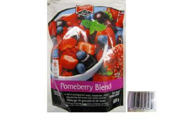 The B.C. Centre for Disease Control says don't eat Pomeberry Blend frozen berries manufactured by Western Family because it may be linked to the hepatitis A virus.