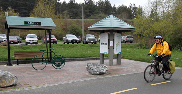 Cyclists on regional trails will soon have drinking fountains to help quench their thirst.