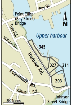 Area where Victoria council is considering selling property