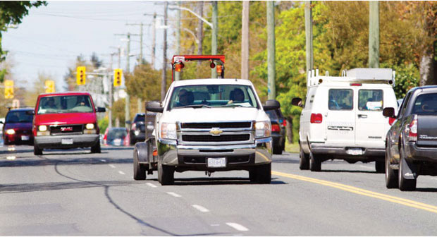 Saanich officials are hearing conflicting views on what changes should be made to Shelbourne Street.