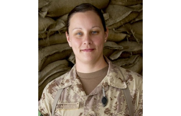 Capt. Carmen Archer, whose husband is also in the Forces, joined the military four years ago.