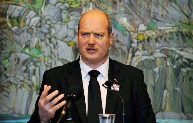 Mike de Jong, seen here in a file photo from 2011, said he agreed an advocate office should be independent.
