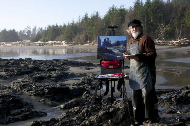 Tofino's Mark Hobson hopes a book of paintings by 50 artists will draw attention to the Northern Gateway project.