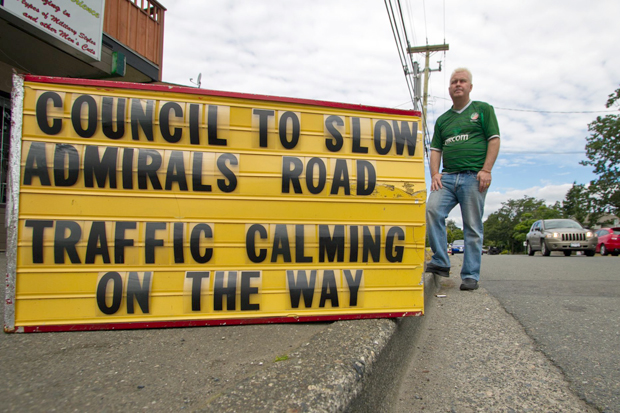 "Scott Attrill: ""Councils, regardless of who they are, are disacknowledging the fact that people are using these roads."""