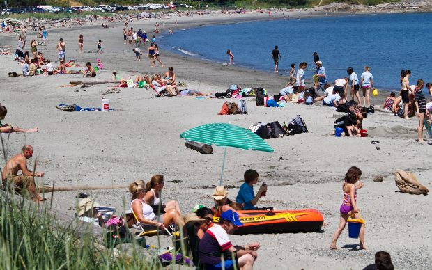 Willows Beach would be a no-smoking zone if Vancouver Island Health Authority gets its way.