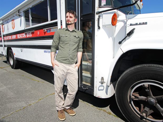 The Salvation Army's Beacon Bus — which provides food and basic necessities every Friday downtown and in emergencies — first hit Victoria streets in 1997 and is simply past its mechanical prime, says organizer Nathan Swartz.