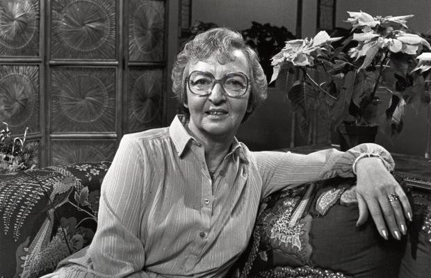 Ida Clarkson, seen here in a photo taken in 1982, was well respected on the Island as a veteran radio and television broadcaster.