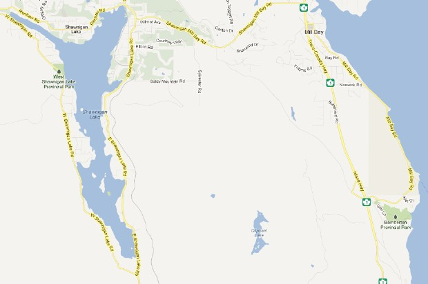 One young man suffered serious burns and three women were injured when a water ski boat caught fire on Shawnigan Lake Sunday afternoon.