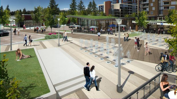 Developers of Capital City Centre in Colwood plan to recover heat and water from sewage wastewater, cutting its water and energy costs.