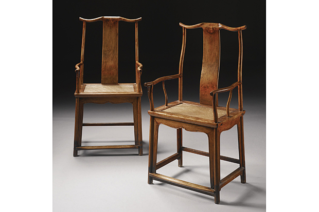 A pair of 17th-century chairs made of rare rosewood sat at St. Matthias Anglican Church for more than 20 years.